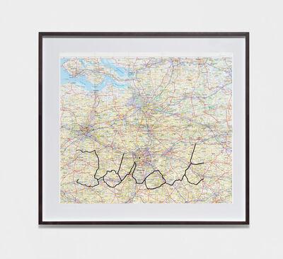 Kris Martin, 'Idiot Trip (Brussels)', 2019