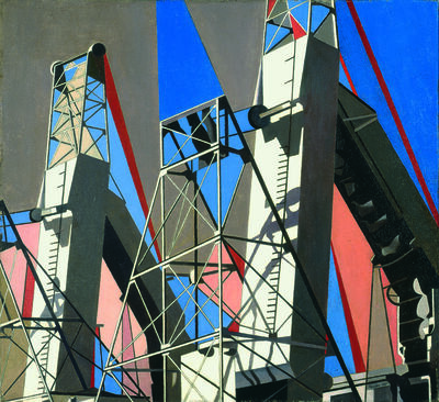 Charles Sheeler, 'The Web (Croton Dam)', 1955