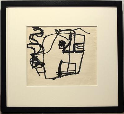 Franz Kline, 'Study of a Head', 1947-1949
