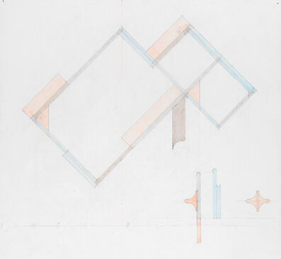 Richard Rezac, 'Study for Untitled (19-02)', 2019