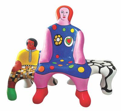 Niki de Saint Phalle, 'Le Banc des Generations', 1988
