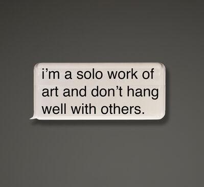 Jonathan Paul (aka Desire Obtain Cherish), 'Solo Artist', 2018