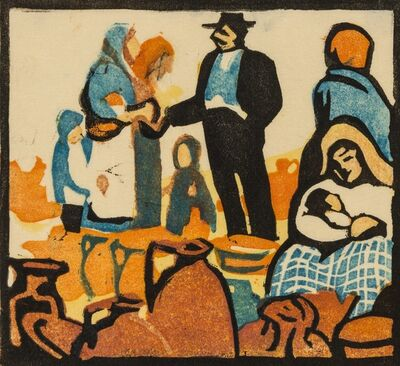 Enid Mitchell, 'Pottery', 1930