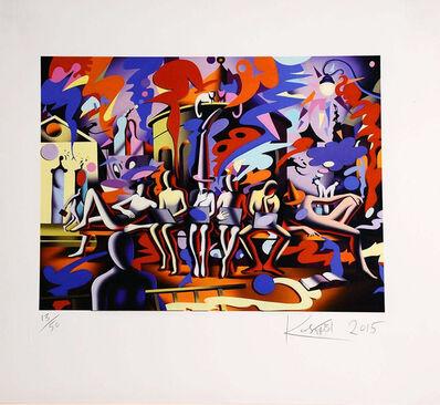 Mark Kostabi, 'Midnight at Noon', 2015