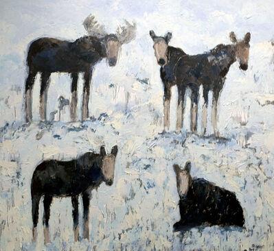 Theodore Waddell, 'Cottonwood Moose', 2020