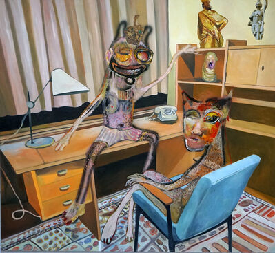 Juliane Hundertmark, 'Office 2', 2020