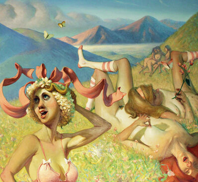 Andrew Foster, 'Six Women (The Enchanted Valley of Nymphs)', 2008
