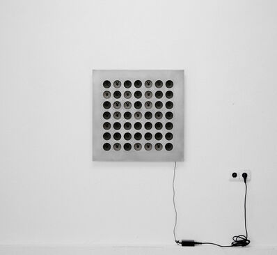 Tristan Perich, 'Interval Study #2: 49 divisions of the minor 2nd from C5 to C#5', 2010