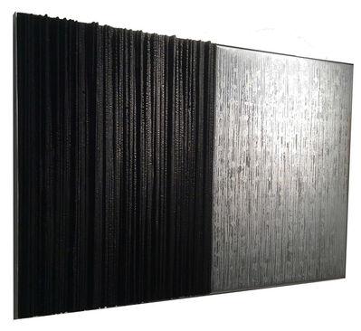 Elisabett Gudmann:    Metal Wall Pieces, 'Night/Day', 2016