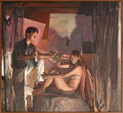 Jerome Witkin, 'Cupid and Psyche', 2004