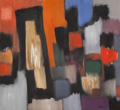 Fritz Winter, 'Die roten Felder', 1961