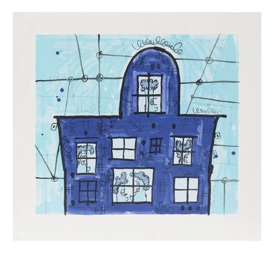 Carroll Dunham, 'Blue House', 1997