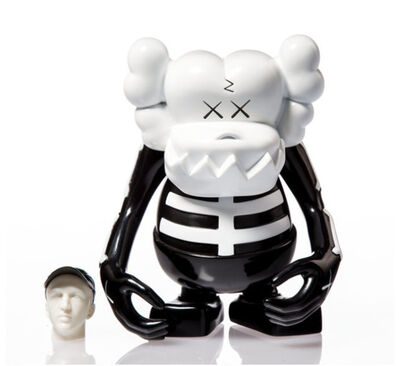 KAWS, 'KAWS X BOUNTY HUNTER SKULL KUN BLACK AND WHITE', 2006
