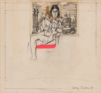 Larry Rivers, 'Janet Seated', 1968