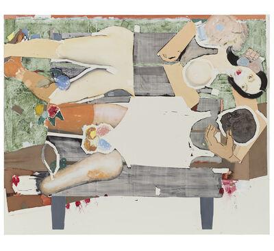 Magnus Plessen, '(Untitled) Park Bench', 2018