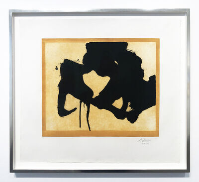 Robert Motherwell, 'At the Edge', 1984