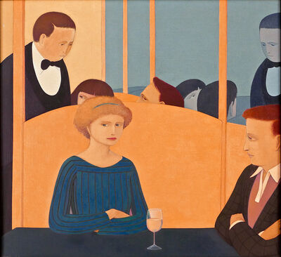 Andrew Stevovich, 'Cafe Benci', 1982