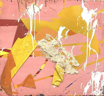 Alejandro Contreras, 'Pink and Yellow', 2020