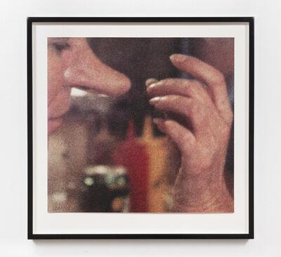 John Baldessari, 'Hands & Feet: Hands & Nose', 2017