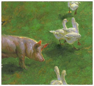 Jamie Wyeth, 'Goose Crossing', 2005
