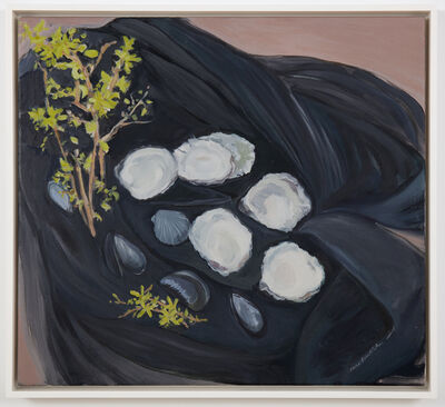 Jane Freilicher, 'Seashells and Forsythia', 1983