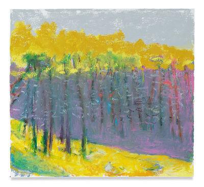 Wolf Kahn, 'Reddish Purple Distance', 2018