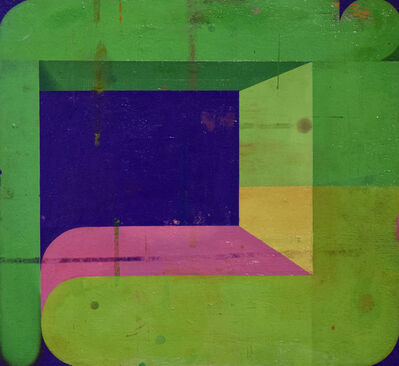 Deborah Zlotsky, 'Couple, Green and Green', N/A