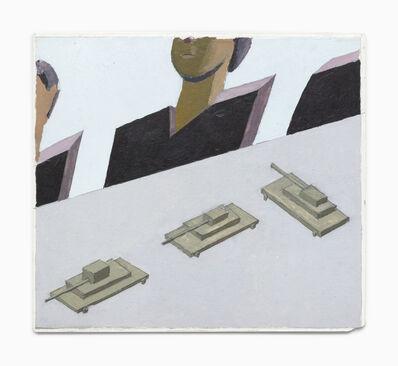 Mernet Larsen, 'Tanks (Study)', 2007
