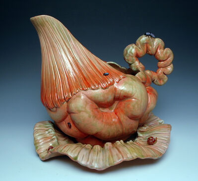 Bonnie Seeman, 'Pitcher Form with Intestines', 2011