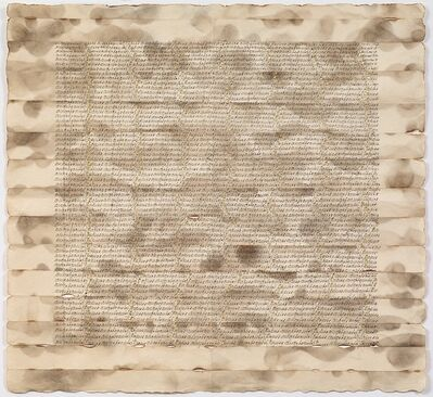 Greta Schödl, 'Untitled (Angebrantes Papier - Burned paper)', 1975