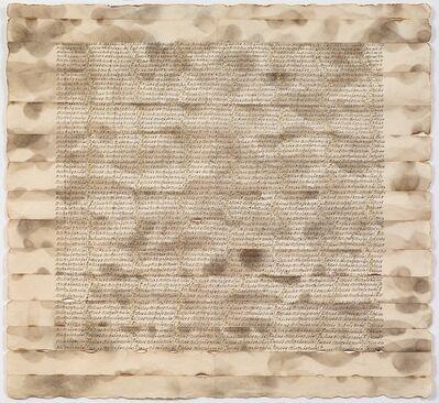 Greta Schödl, 'Untitled (Angebrantes Papier - Burned paper)', 1975