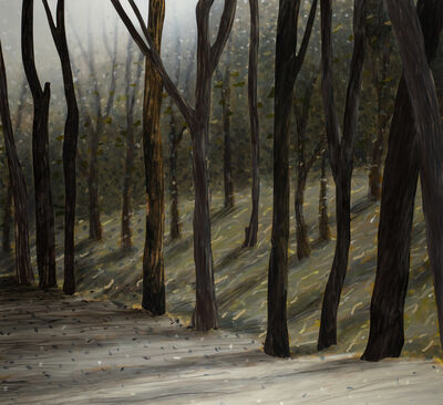 Alan Jones, 'Painting 265 (The Fire Trail)', 2019
