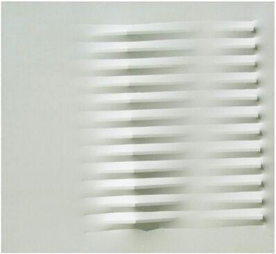 Agostino Bonalumi, 'Bianco', 1984