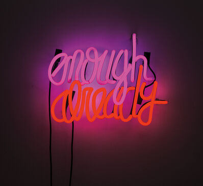 Deborah Kass, 'Enough Already', 2012