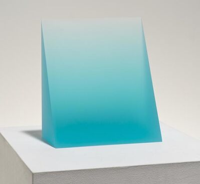 Peter Alexander, 'Untitled, Turquoise Wedge', 2015