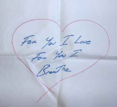 Tracey Emin, 'For You I Love For You I Breathe', ca. 2014