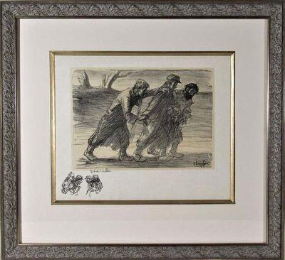 Théophile Alexandre Steinlen, 'Les Trois Compagnons', 1915