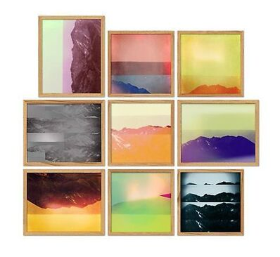 Penelope Umbrico, 'Mountains, Moving: of Aperture Masters of Photography (9 Westons)', 2012-2013