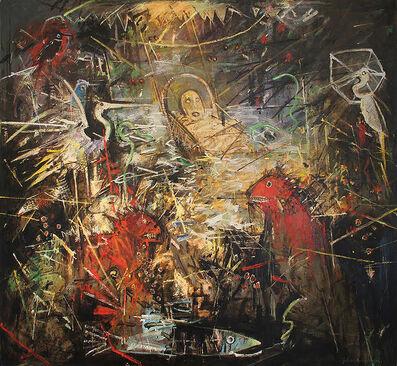 John Alexander, 'Wet Dreams of Baby Moses', 1985