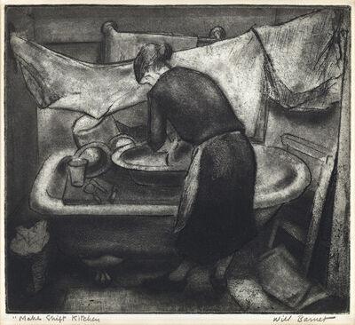 Will Barnet, 'Makeshift Kitchen.', 1935