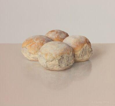 Comhghall Casey, 'Four Bread Rolls', 2018
