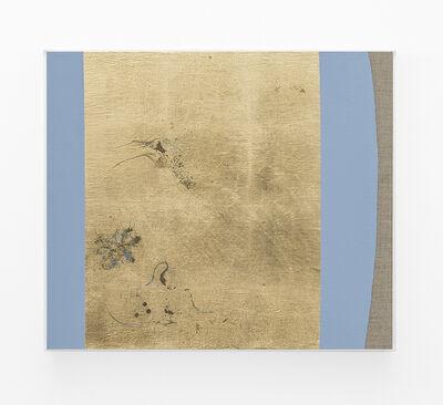 Pierre Vermeulen, 'Hair orchid sweat print, azure blue form', 2018