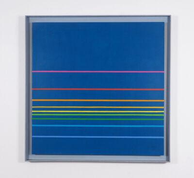 Henryk Stazewski, 'farbige komposition nr. 37-1974', 1974