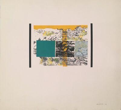 Osvaldo Romberg, 'El paisaje como idea', 1970