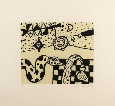 Alan Davie, 'Snake and Vase', 1970