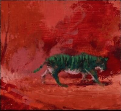 Paul Sattler, 'Dream of Green Tiger', 2018