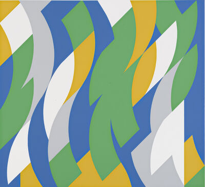 Bridget Riley, 'Start', 2000