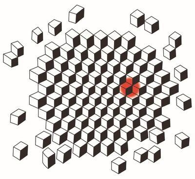 Angela Bulloch, 'Full Stop. Cube', 2019