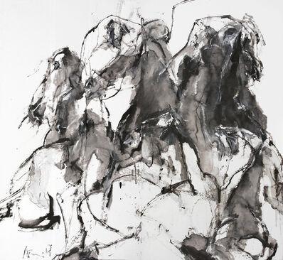 Andrew Lui, 'Black Pegasus I', 2018