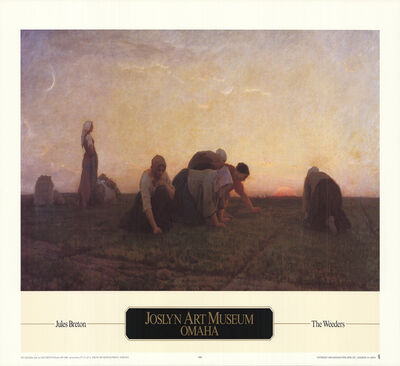 Jules Breton, 'The Weeders', 1990